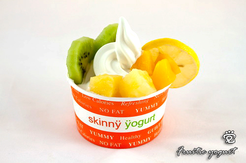 Fruitie yogurt
