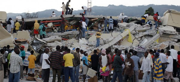 Thousands feared dead in Haiti quake; many trapped