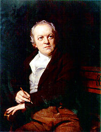 William Blake in an 1807 portrait by Thomas Phillips.