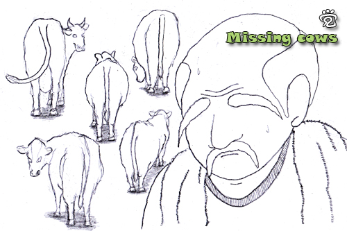 Missing cows by CJ