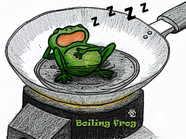 Boiling frog - by CJ