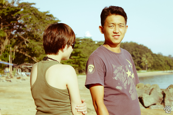 friends, Tracy and Kok-Liang