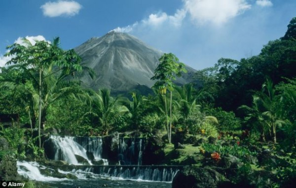 Arenal National Park in Costa Rica. A new report has warned that humans are overusing the planet's resources