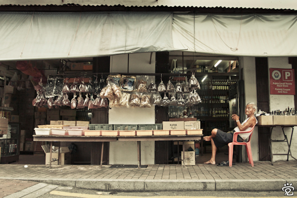 an old shop in Jalan Tokong