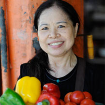 Chen's frugality has allowed her to donate over $3000,000 to many charitable causes. (Photo: Marc Gerritsen)