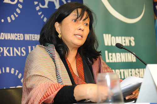 Zainah Anwar (image from Women's Learning Partnership)