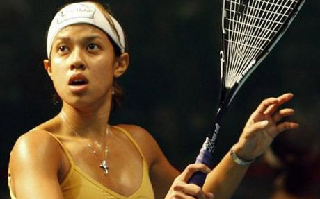 Datuk Nicol David (image from http://squashstars.com)