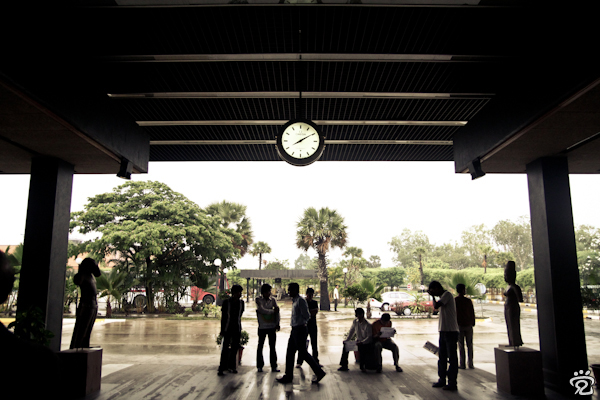 time (Siem Reap International Airport)