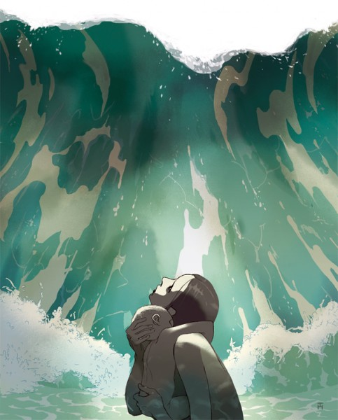 Swallowed By The Sea (illustrated by Tomer Hanuka)