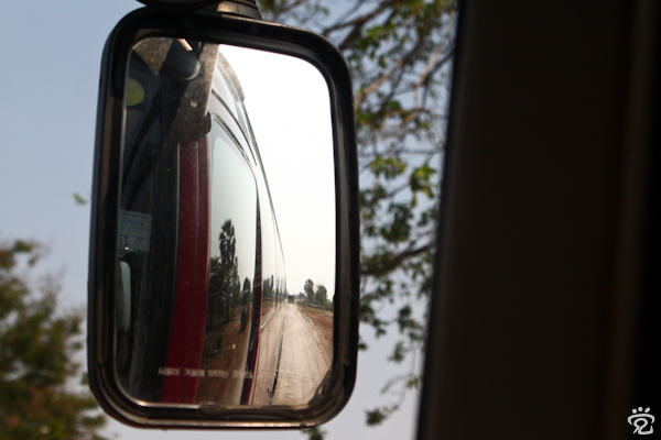 bus journey from Siem Reap to Phnom Penh