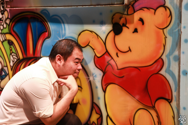 Winnie the Pooh and partner Henry