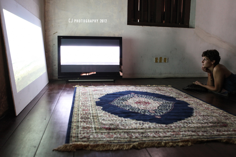 Corner – video installation by Khaled Sabsabi at No. 8 Heeren Street Heritage Centre