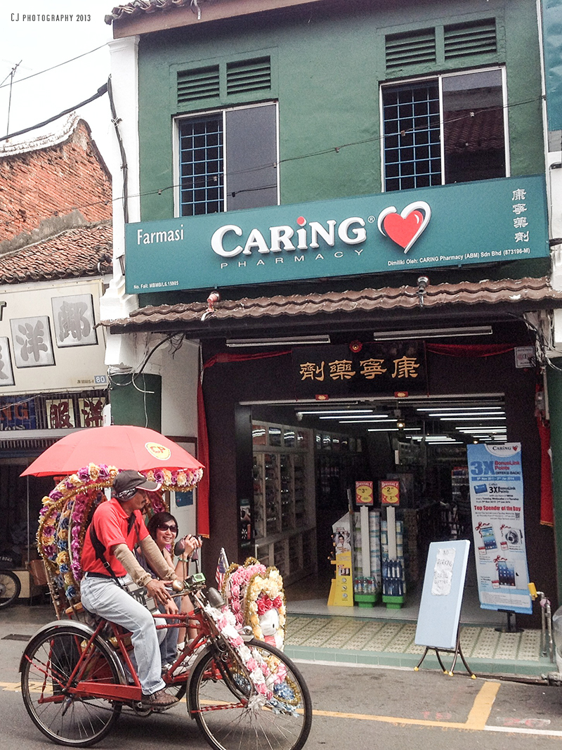 Caring Pharmacy of heritage building
