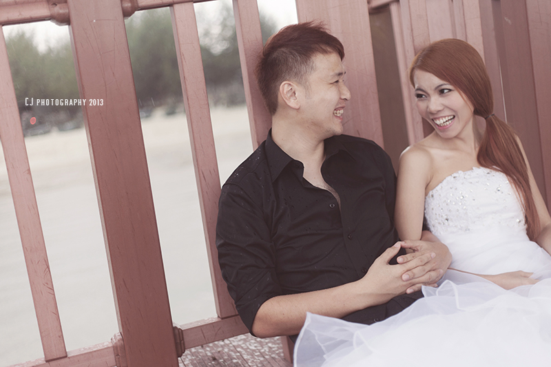 Port Dickson beach prewedding