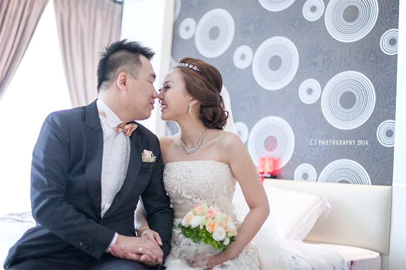 Actual wedding day photography with Eva & Bryan from Melaka