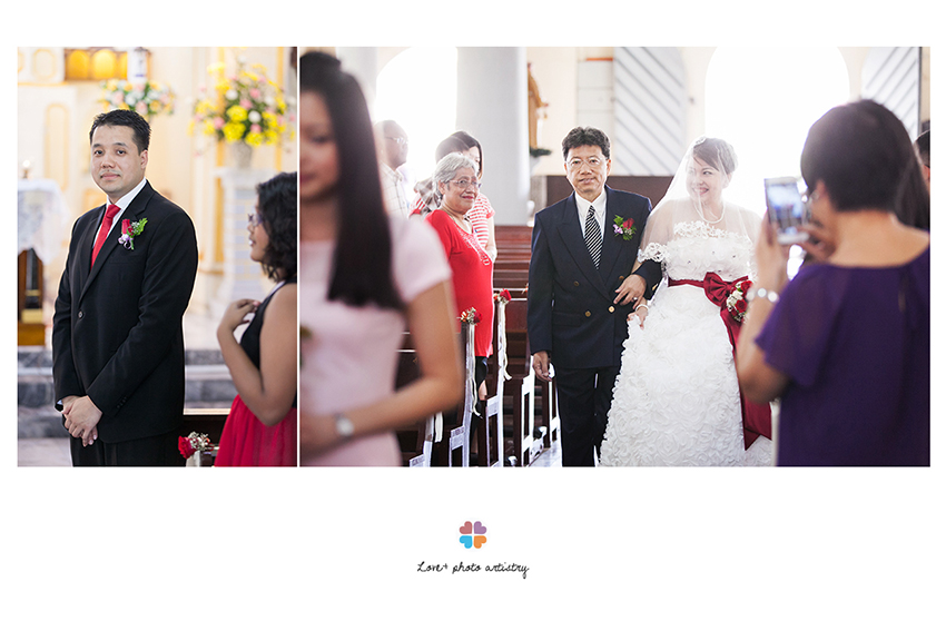 St. Peter Church Melaka wedding
