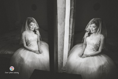 Gorgeous bride Colleen in Melaka