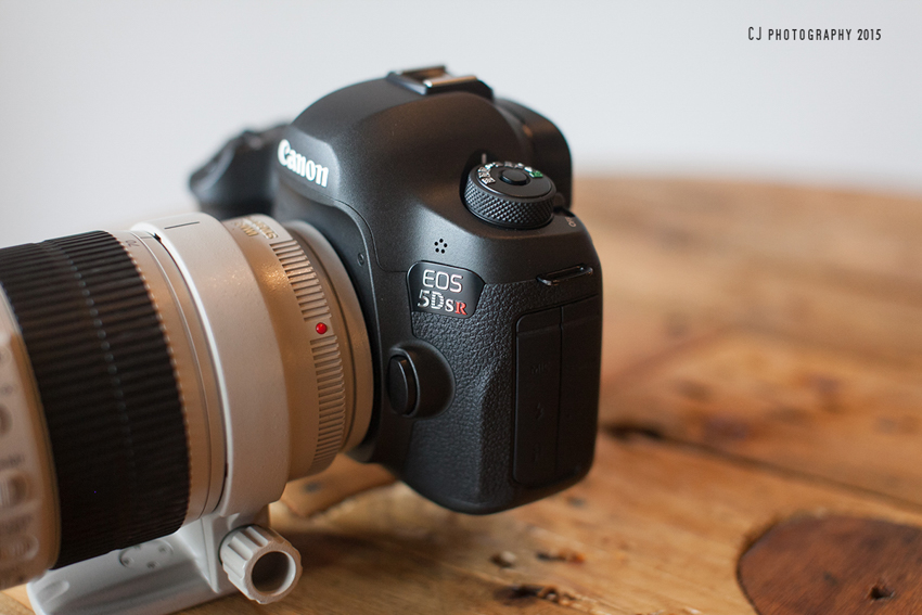 The new Canon EOS 5DS R, full-frame 50.6MP DSLR camera