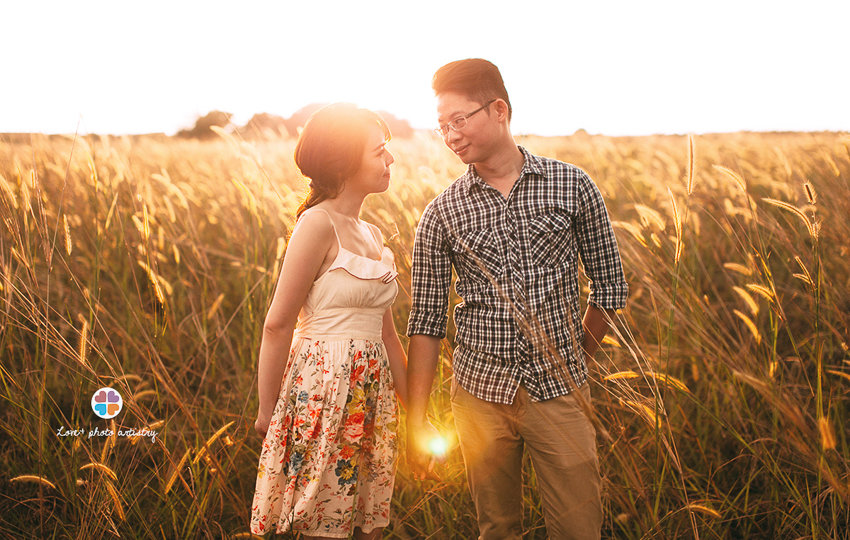 Pre-wedding portrait covered by Love+ photojournalist