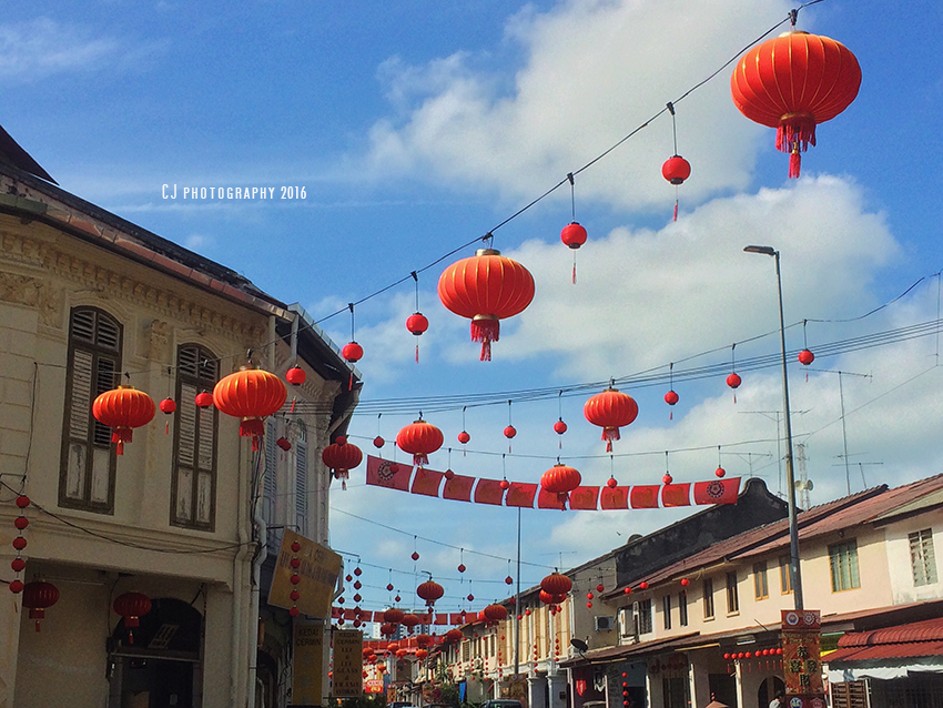 Chinese New Year at Bukit Cina (iPhonegraphy)