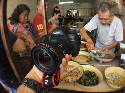 Canon EOS 5D Mark IV DSLR camera and last day of Long Fatt Teochew Porridge (隆发潮州粥)