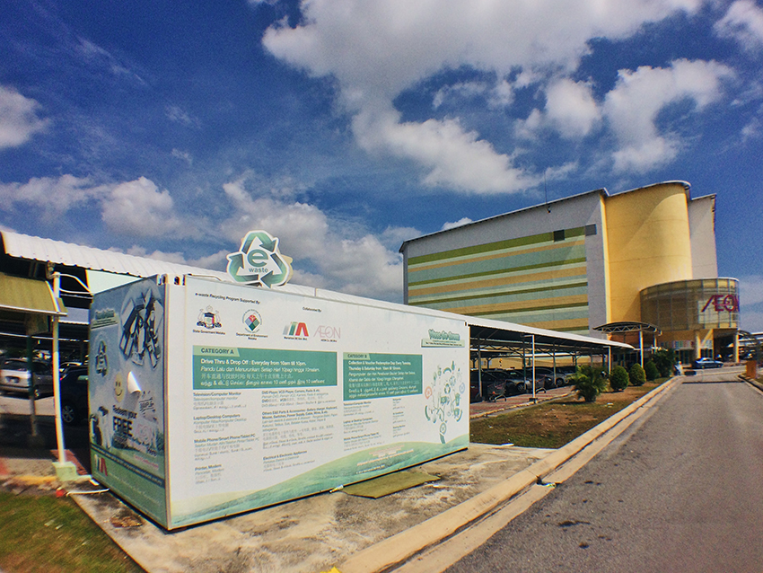 Melaka's Drive Thru and Drop Off Electronic Waste Collection Centre