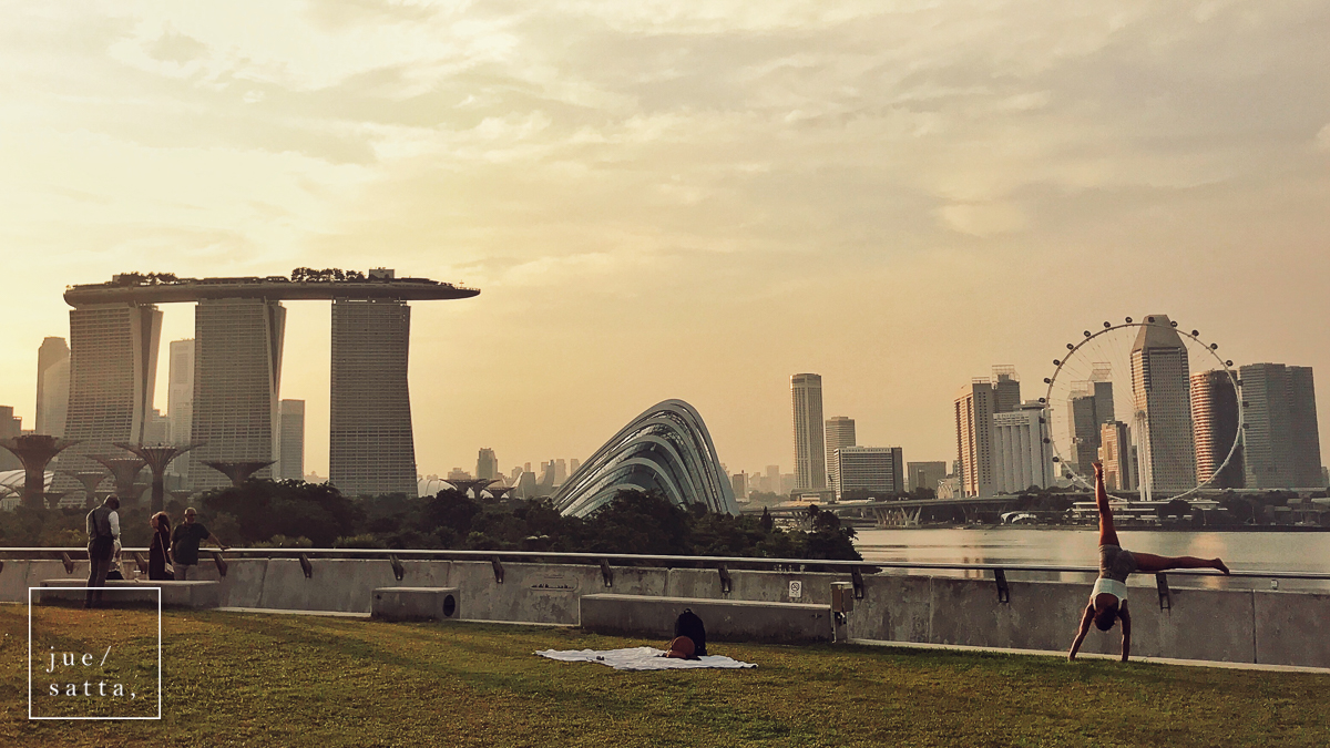 Marina Barrage and Gardens by the Bay, places for outdoor activities in Singapore
